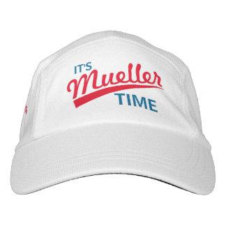 """Divertido """"es tiempo de Mueller """" Gorra De Alto Rendimiento"""