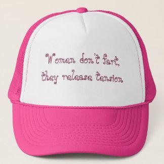 Divertido Fart el gorra para las mujeres en rosa y