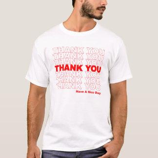 Divertido gracias empaquetar la camiseta