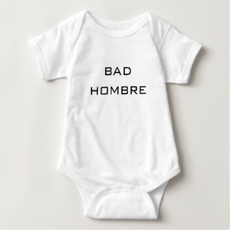 divertido lindo del mún del hombre- humor político body para bebé