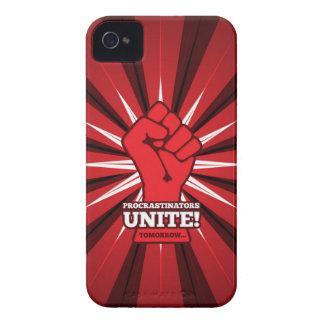 Divertido: ¡Los Procrastinators unen! (Mañana) Funda Para iPhone 4 De Case-Mate