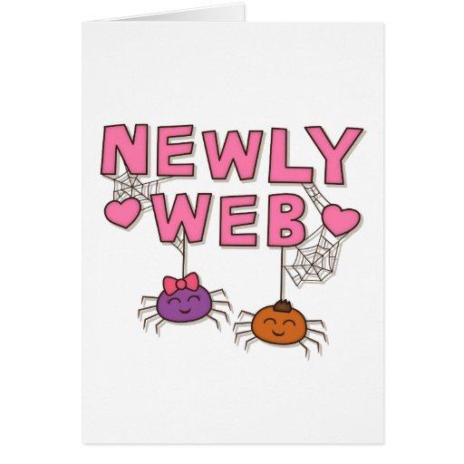 Divertido los Web spider casese nuevamente o Felicitacion