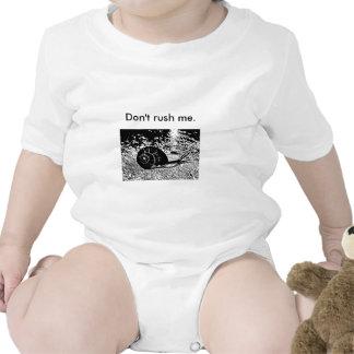 ¡Divertido no me acometa! Caracol Trajes De Bebé