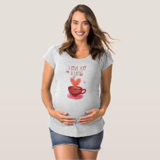 Divertido te amo una camiseta de maternidad de la
