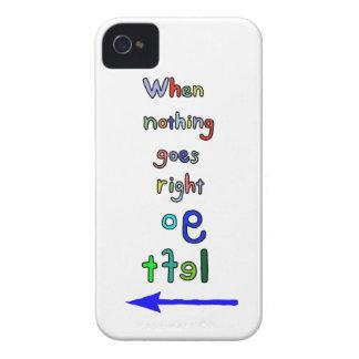 Divertido y inspirado va el caso izquierdo del funda para iPhone 4 de Case-Mate