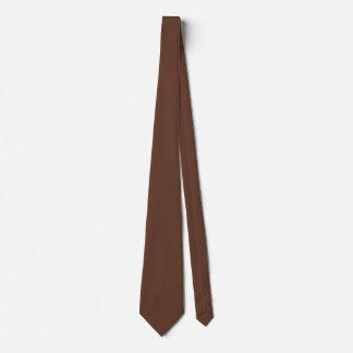 Divinamente color de Brown de la confitería Corbata Personalizada