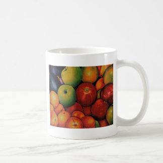 divinas de los frutas tazas de café