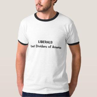 Divisores de LIBERALSGreat de América Camisas