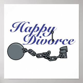 Divorcio feliz póster