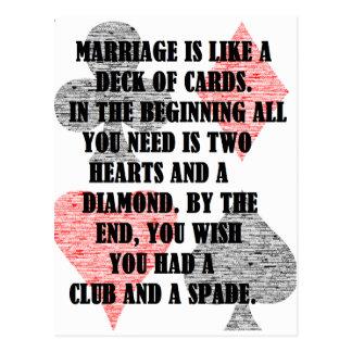 Divorcio: Humor Postal