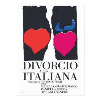 Divorcio un la Italiana Tarjeta Postal