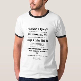 Dixie aviador Train primero Service Camiseta