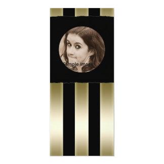 DIY crean su propio marco personalizado negro de Invitación 10,1 X 23,5 Cm