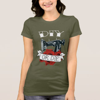 DIY o mueren ejército de la camisa de las señoras