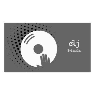 DJ Business CARDS Plantilla De Tarjeta De Visita