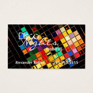 DJ-Indestructible colorido fresco Tarjeta De Negocios