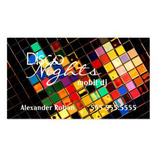 DJ-Indestructible colorido fresco Tarjetas De Visita