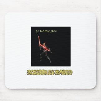 DJ Jedi oscuro garabatea la estera de radio del Alfombrilla De Ratón
