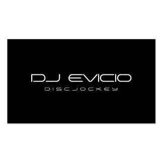 DJ - Tarjetas de visita