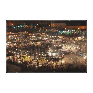 Djemaa el Fna, Marrakech Impresiones De Lienzo