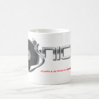 djjnice-logotipo-a todo color, ATLANTA y LAS VEGAS Taza Clásica