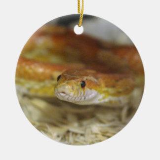 DO la serpiente Adorno Navideño Redondo De Cerámica