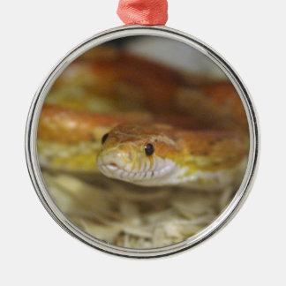 DO la serpiente Adorno Navideño Redondo De Metal