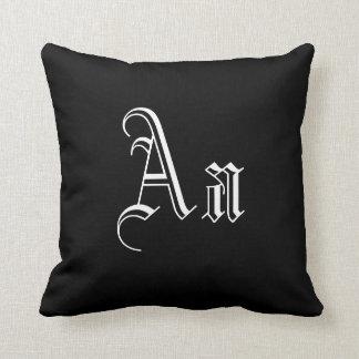 Doble un monograma en I blanco y negro