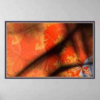 Dobleces en la tapicería posters