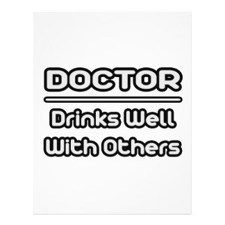 Doctor… bebidas bien con otras tarjetones