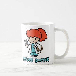 Doctor (chica) taza clásica