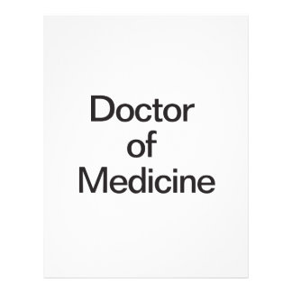 Doctor de la medicina flyer personalizado