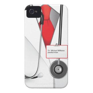 Doctor de las medicinas iPhone 4 Case-Mate cárcasas