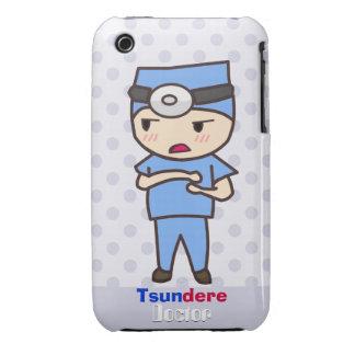 Doctor de Tsundere iPhone 3 Cárcasas