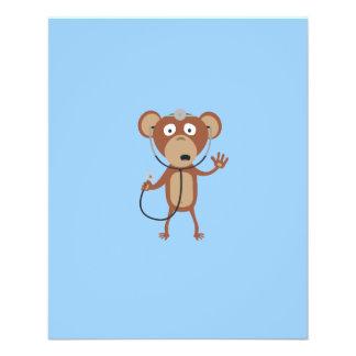 doctor del mono folleto 11,4 x 14,2 cm