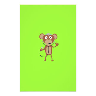 doctor del mono folleto 14 x 21,6 cm