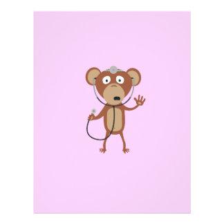 doctor del mono folleto 21,6 x 28 cm