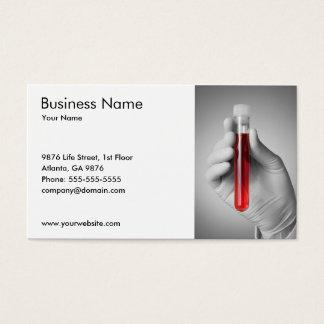 Doctor elegante del servicio médico de la muestra tarjeta de negocios