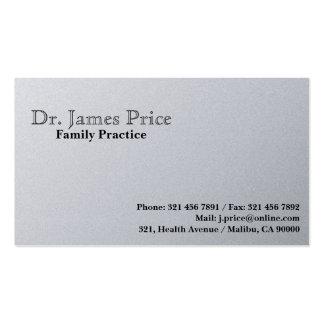 Doctor - tarjetas de visita