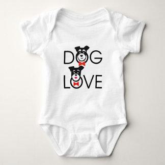 Dog Love Body Para Bebé