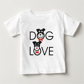 Dog Love Camiseta De Bebé