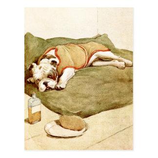 Dogo con una enfermedad misteriosa postal
