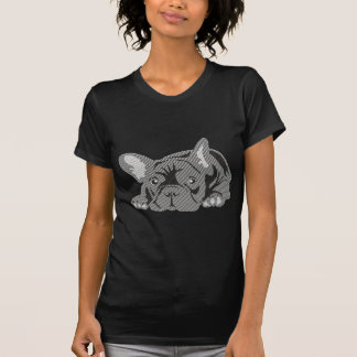 Dogo de líneas camisetas