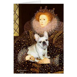 Dogo francés 3 - reina tarjeta