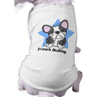Dogo francés de BW de la estrella de Kawaii