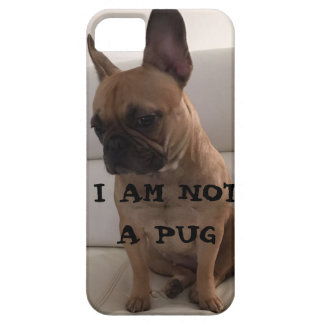 DOGO FRANCÉS, SE + iPhone 5/5S, Barely There Funda Para iPhone SE/5/5s