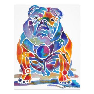 Dogo inglés folleto 21,6 x 28 cm