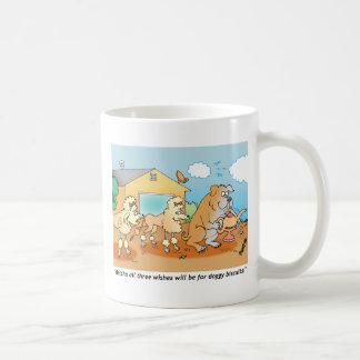 Dogo - regalos del dibujo animado del caniche taza
