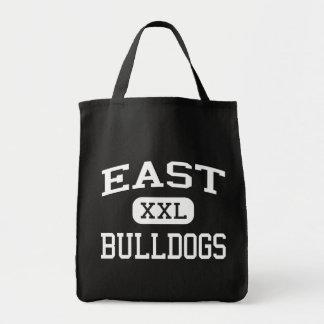 - Dogos - joven del este - Opelousas Luisiana Bolsa Lienzo