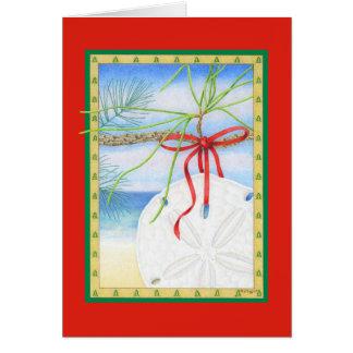 Dólar de diciembre tarjeta